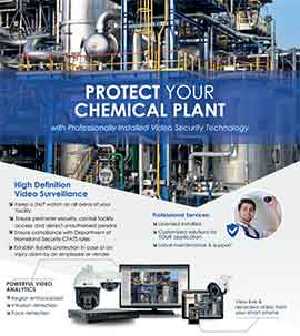 Chemical Plant Security Solutions